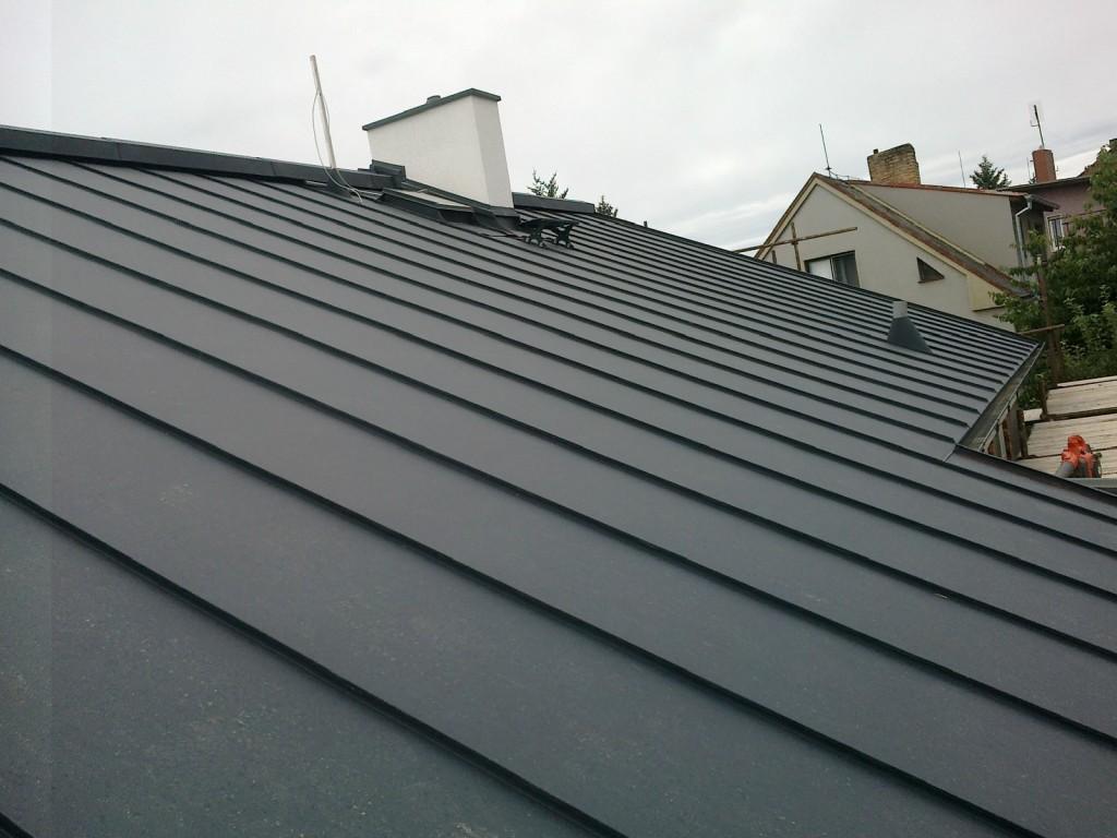Plechová střecha Prefa