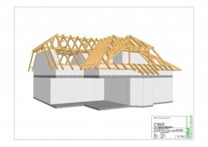 3D vizualizace krovu
