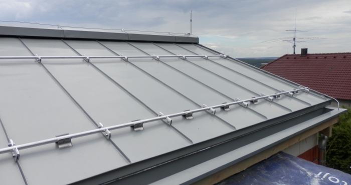 Plechová střecha Rheinzink